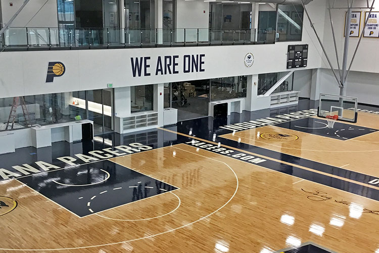 Indiana Pacers Training Facility